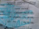 Tiket Bus SBY - NGK